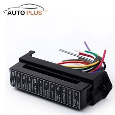 compare prices on lotus cars online shopping buy low price lotus 12 way dc 12v volt fuse box 24v 32v circuit car trailer auto blade fuse box