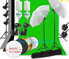 photography studio backdrop umbrella lighting kit support stand