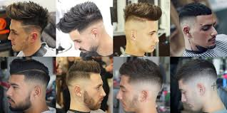 Mens Hair Types Chart 59 Best Fade Haircuts Cool Types Of Fades For Men 2019 Guide