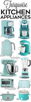 Turquoise Kitchen Turquoise Kitchen Decor Appliances