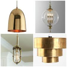 brass pendant ceiling light round up
