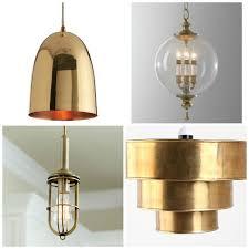 brass pendant ceiling light round up