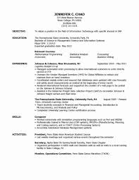 Study Abroad Resume Resume format for Abroad Fresh Brilliant Ideas Of Study Abroad 2