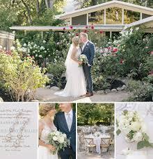garden center summer wedding