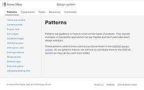Gov Uk Design System Departmental Page Templates Issue 185 Alphagov Govuk