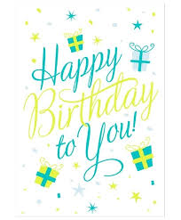 Greeting Card Template For Birthday Vector Material Templates ...