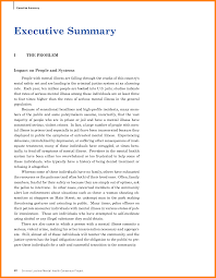 Generous Executive Summary Template Images Resume Ideas