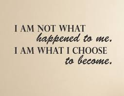 stand principle quote wall decal. I Am What Choose To Become - Positive Inspirational Quote Wall Decal Stand Principle 2