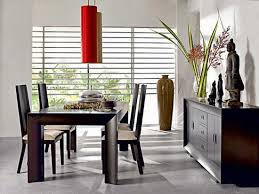 feng shui dining room wall color. dining room decorating with chinese case, figurines, red lamps and flowers, feng shui tips for design wall color u