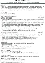 Marine Corps Resume Interesting Senior Accountant Resume R Shoulderboneus