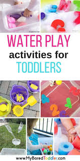 Water Play Activities for Babies and Toddlers | Baby/Toddler ...
