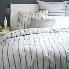 ticking stripe duvet cover queen striped king