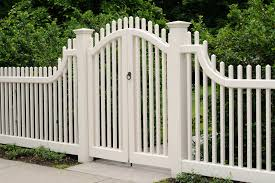 Picket Fence Gate Design Fence Ideas Best Picket Fence Gate At Home