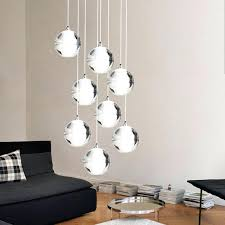 staircase to heaven modern hanging glass globe pendant lights at design lighting for stairs modern pendant lights