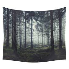 nature scenery art tapestry wall hanging boho 6