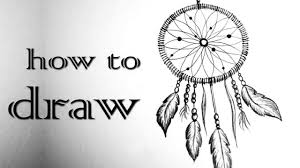 How To Draw A Dream Catcher DREAMCATCHER Traumfänger Black White Mandala HOW TO DRAW 86