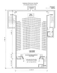 Seating Plan Wingham Town Hall Theatre