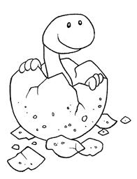Facilissimo Disegno Da Colorare Con Dinosauro Disegni Da Colorare