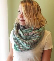 Infinity Scarf Knitting Pattern Circular Needles