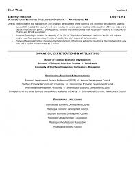 Non Profit Resume Profit Executive Resume 11
