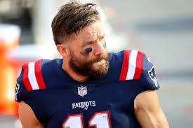 Patriots WR Julian Edelman won't return this season