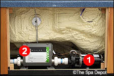 pumps spadepot com photo courtesy spas after disconnecting the electrical
