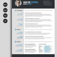 Free Resume Design Free Msword Resume And Cv Template Free Design Resources inside 76