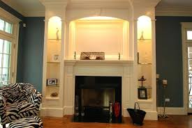 built in wall shelves around fireplace poplar fireplace surround by emerald custom wood design at built in wall shelves with fireplace