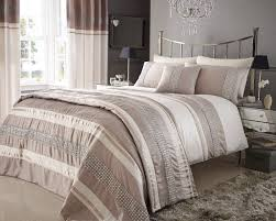 beige  cream colour stylish lace diamante duvet cover luxury