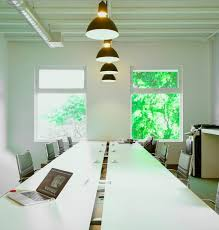 Office pendant light Simple Industrial Pendants Lend Chic Touch To Miami Office Space Blog Barnlightelectriccom Lampscom Industrial Pendants Lend Chic Touch To Miami Office Space Blog