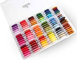 Atteret Embroidery Floss Kit - 108, 6-Strand Colors (99 ... - Amazon.com