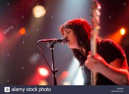 The English folk punk band Ducking Punches performs a live concert at Stock  Photo - Alamy