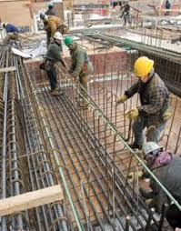 rebar working rebar worker