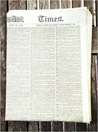 Newspaper Template Olden Times The Changing Times Newspaper Template Financial Bernardy Co