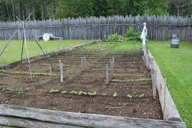 Kitchen Garden Farm Historic Gardens At Grand Portage Sharing Horizons