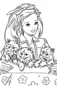 Small Picture 571 best barbie coloring pages images on Pinterest Barbie