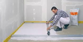 Ausgleichsmasse eignet sich zum ausgleichen von kompletten fußböden sowie zum ausgleich von löchern bis zu einer dicke von 3 cm. Niveauausgleich Fur Fussboden Bauhandwerk