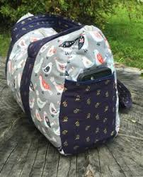 Cargo Duffle Bags plus a tutorial to sew in a lining | Duffle bags ... & Free Overnight Duffel Bag Pattern-Updated post is finally here! This  popular pattern is Adamdwight.com