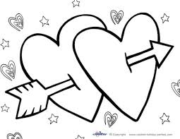 Small Picture Free Printable Valentines Day Coloring Pages creativemoveme