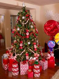 How To Decorate A Candy Cane Christmas Tree Photos Hgtv Candy Cane Christmas Tree idolza 9