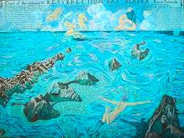 Resurrection Bay Chart Chart Of The Entrance Of Resurrection Bay Seward Murals
