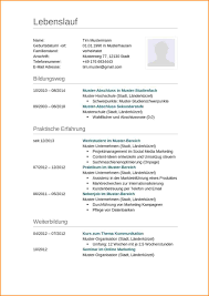 7 Lebenslauf Vorlage Questionnaire Templated