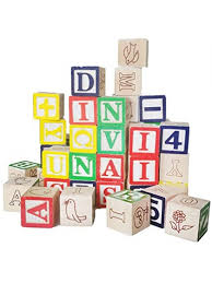 d dolity 50 pcs wooden abc alphabet numbers cube blocks stacking kids children early learning