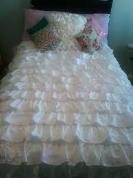 twin ruffle bedding ruffle bedding tutorial waterfall ruffle bedding smitten by 2 twin flat sheets plus