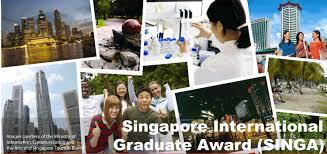 Image result for logo for Singapore International Graduate Award (SINGA)