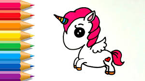 Literarywondrous Unicorn Colouring Pages For Kids Kawaii Coloring