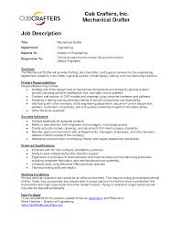 Draftsman Job Description Resume Draftsman Cover Letter Image collections Cover Letter Sample 1