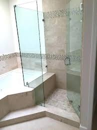 showers corner glass shower corner shower with tub cutout patriot glasirror corner glass