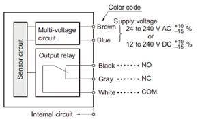 compact multi voltage photoelectric sensor nx5 i o circuit and 4 wire sensor wiring diagram at Sensor Wiring Diagram