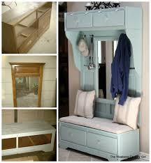repurpose furniture ideas. Turn A Dresser Into Mud Room Bench..awesome Upcycle Ideas! Repurpose Furniture Ideas